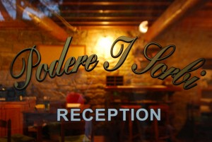 Reception Podere i Sorbi Firenze